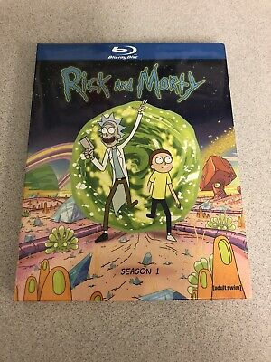 Rick and Morty: The Complete First Season (Blu-ray) NEW SEALED