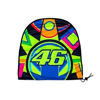 VR46 The Doctor 46 Helm Sun And Moon in Polyester Valentino Rossi