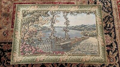 "Lake Como 18th Century Italian Reproduction Tapestry 53"" x 36"""