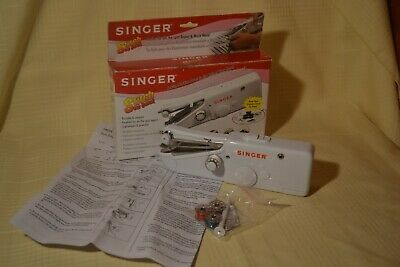 Singer Stitch Sew Quick Portable Lightweight Handheld Sewing
