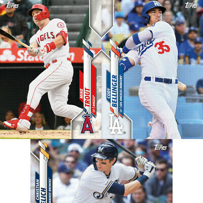 2020 Topps Series 1 Pick Em Base Card Select Who You Need To Fill Your Set 1-175