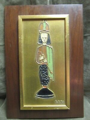 Marad 1950s Mid Century Wall Art Henry J Koons Chessmen Series LORI Queen Design