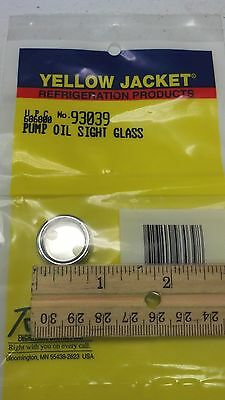 Sight Glass, VACUUM PUMP, Ritchie ENGINEERING, YELLOW JACKET, PART# 93039
