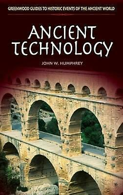 Ancient Technology by John W. Humphrey (English) Hardcover Book Free Shipping!