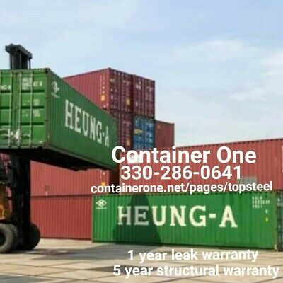 20 And 40 Steel Conex / Storage / Shipping Containers In Houston TX