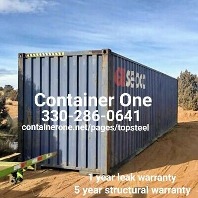 20 And 40 Steel Conex / Storage / Shipping Containers In Jacksonville FL