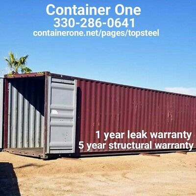 20 And 40 Steel Conex / Storage / Shipping Containers In Kansas City MO
