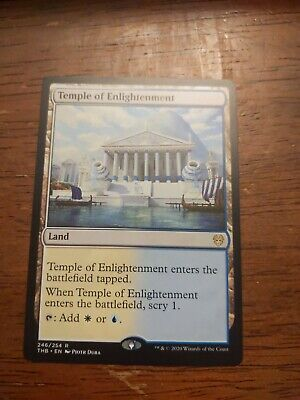 Magic The Gathering Theros Beyond Death, Temple Of Enlightenment 246/254R