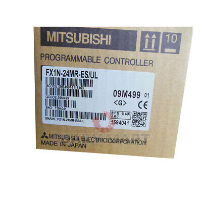 New In Box MITSUBISHI FX1N-24MR-ES/UL Programmable Controller