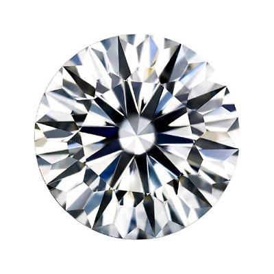 1.00 CT Cvd avec Excellente Coupe Labo Grown Desseré Diamant SI2/E Luxe Diamant