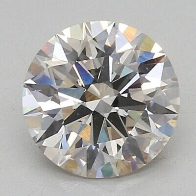 0.90 CT Labo Grown Desseré Diamants Certifié Igi J/VVS2 Clarté Diamant Rond