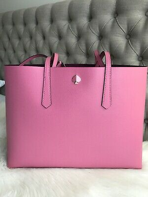 New Kate Spade molly large Blustery Pink Tote beautiful gift Work Career