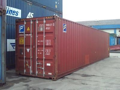 40' HIGH CUBE shipping Container.