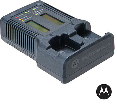 MOTOROLA - NNTN7593 - IMPRES Dual Unit Charger with Display (APX 6000/7000/8000)