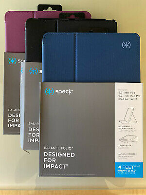 "Speck OEM Balance FOLIO Case/Stand for Apple 9.7"" iPad/iPad Pro/iPad Air/2"