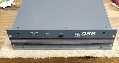 EV Electro Voice Q66 Professional Stereo Audio Amplifier
