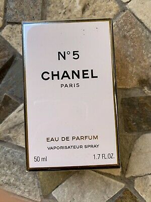 CHANEL No 5 Eau De Parfum Vaporisateur Spray 1.7 oz  WOMEN New Box. Authentic