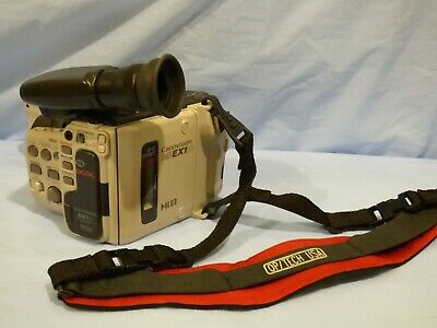 CANOVISION EX1 HI CAMCORDER Canon Video Camera Hi8 8mm BODY ONLY FOR PARTS
