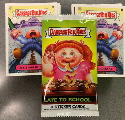 2020 Garbage Pail Kids Late To School 200-Card Complete Base Set W Free Wrapper