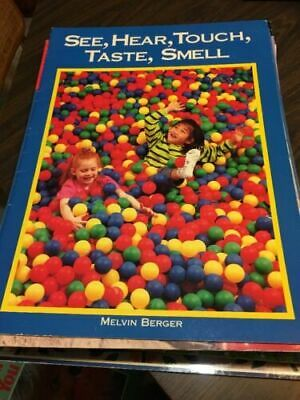 See Hear, Touch, Taste, Smell [Macmillan Early Science Big Books] [ Berger, Melv