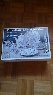 Kaffee-Set indisch blau - Winterling - Germany - 11 tlg.