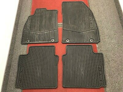 GM Accessories 22952645 Front and Rear Carpeted Floor Mats in Dark Urban General Motors