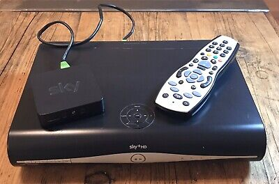 SKY+HD BOX  DRX890 with remote and wireless connector