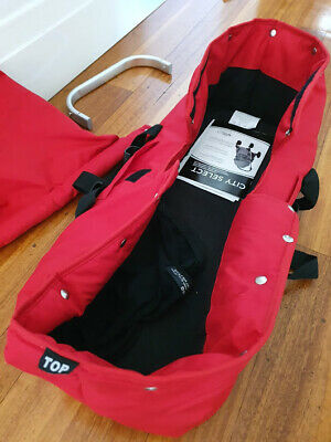Baby Jogger City Select Ruby Red Bassinet - Pick up St Kilda