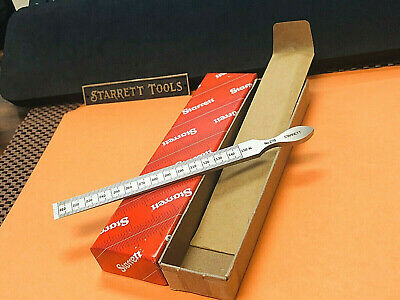 BRAND NEW STARRETT No. 270 Steel Taper Gauge. Made in the USA.