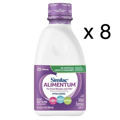 8 Bottles Similac Alimentum ready to feed