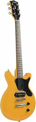 FFDCS Firefly Solid Body Electric Guitar Yellow Color