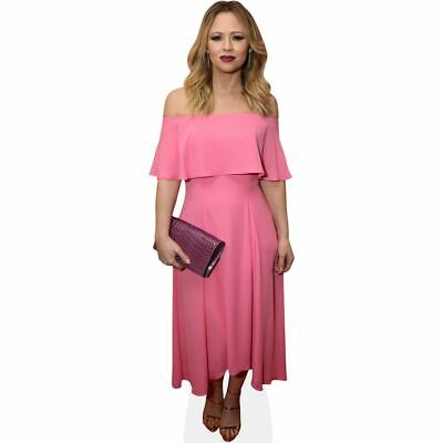 Kimberley Walsh (Pink Dress) Mini Cutout