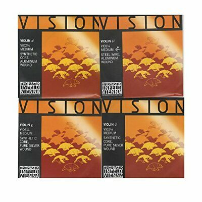 Thomastik-Infeld VI100.14 Vision Violin Strings Complete Set 1/4 Size