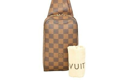 Louis Vuitton Damier Ebene Geronimos Shoulder Bag N51994 - YF02257