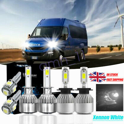 100w Super White HID Xenon Upgrade Low//LED Trade Side Light Bulbs Kit