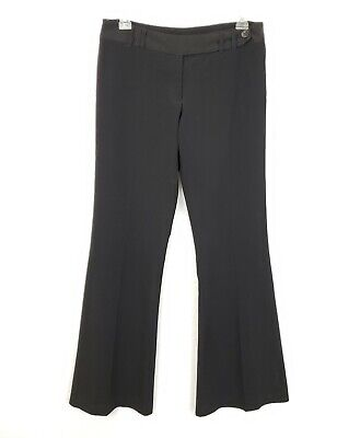 XOXO Womens Juniors Girls Black Work Career Dress Slacks Pants Size 3