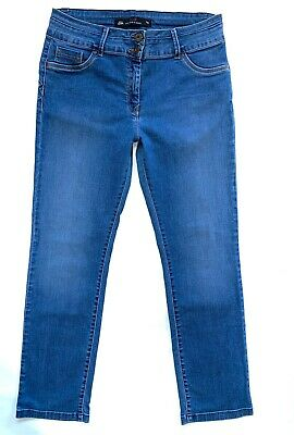 Ladies * NEXT * SLIM Lift Slim & Shape Jeans Size 16 R Great Cond