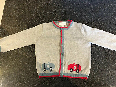 Beautiful The Little White Company Boys Traditional Cardigan 12-18 Months