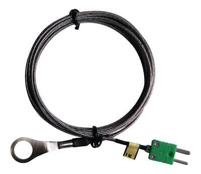 K type Thermocouple with 14mm id Washer for Cylinder Head Temperature (CHT) 3m