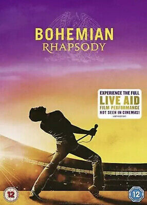 -Bohemian Rhapsody- DVD, 2018, Region 2, Fast Free post.