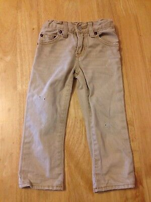 Baby gap Beige Jeans - with frayed effect- 2 years 24 months - adjustable waist