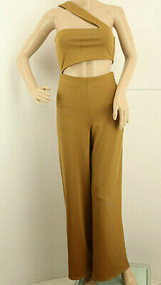 HOUSE OF HARLOW 1960 x REVOLVE Jumpsuit Brown Size XS