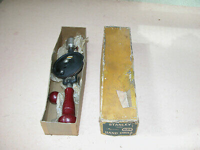 Vintage Stanley 624 Rotary Hand Drill