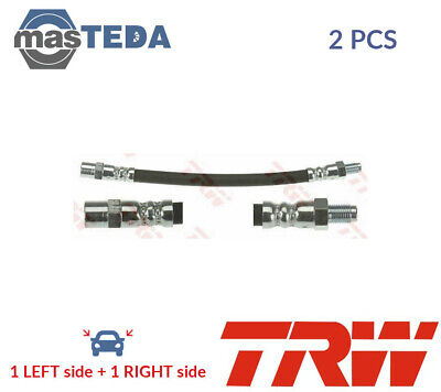 2x TRW REAR OUTER BRAKE HOSE LINE PIPE PHB126 G NEW OE REPLACEMENT