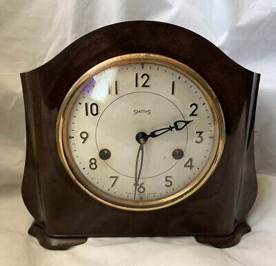 Art Deco Smiths Bakelite Chiming Clock