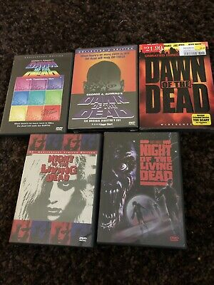 Dawn Of The Dead Dvds And Night Of The Living Dead Dvds