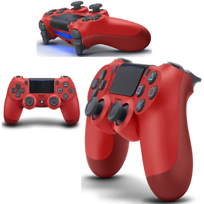 JOYPAD SONY CONTROLLER WIRELESS PS4 Dualshock V2 Magma Red