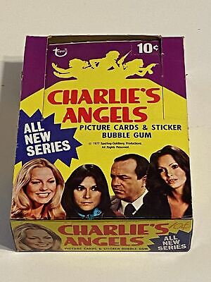 1977 Charlie's Angels Series 3 Empty Vintage Trading Card Wax Box + 20 Wrappers