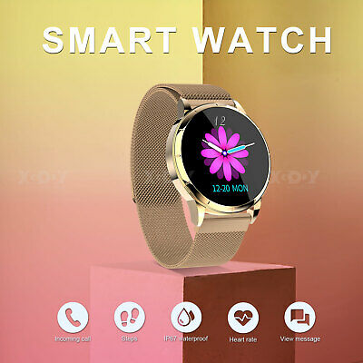XGODY Women Lady HD Smart Watch Fitness Tracker For iOS Android IP67 Waterproof