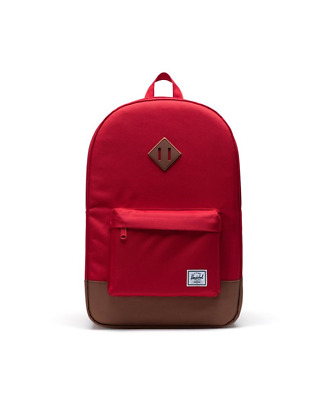 Herschel Zaino  Heritage Backpack 45x31x15 23l Red/saddle Brown